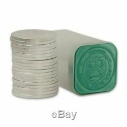 (100) Troy Ounce Lot American Silver Eagle Random Date Rolls. 999 Pure Choice BU