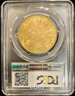 1884-S $20 American Gold Double Eagle MS61 PCGS Liberty Coin Mint