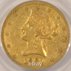 1901-S $10 Gold Liberty Eagle Coin PCGS VF25 Old Green Holder OGH S. F. Mint