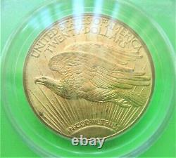 1920 ST. GAUDENS $20 GOLD DOUBLE EAGLE PCGS MS62 Old Green Label GOLD COIN Mint