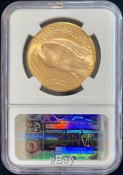 1925 $20 American Gold Double Eagle Saint Gaudens MS63 NGC Certified Mint Coin