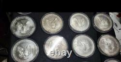 1986-2021 American Silver Eagle Coin Full Set Lot Collection 1oz 99.9% Silver BU