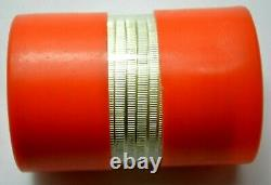 1986 American Silver Eagle in Original Mint Orange Capped Tubes Roll of 20 Coins