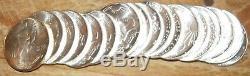 1986 Orig GEM BU Mint Roll 1oz Silver American Eagles