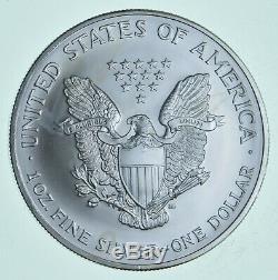 1993-2020 Lot of 5 American Silver Eagle 1 Troy Oz. 999 Fine Silver 1/4 Roll