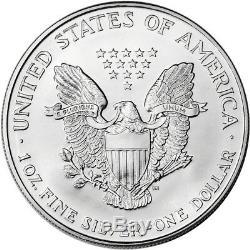 1994 American Silver Eagle (1 oz) $1 1 Roll Twenty 20 BU Coins in Mint Tube
