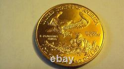1997 Fine Gold 1 Oz Gold American Eagle Us Mint Gold Eagle Coin