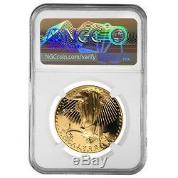 2005 W 1 oz $50 Proof Gold American Eagle NGC PF 69 Mint Error (Rev Struck Thru)