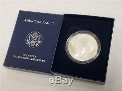 2008 W Reverse of 2007 Silver American Eagle United States Mint Coin withBox