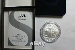 2008 W Reverse of 2007 Silver American Eagle United States Mint Coin withBox #2