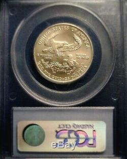 2008 W West Point Mint Burnished $25 Gold Eagle PCGS MS70