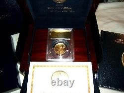 2009 Ultra High Relief $20 Double Eagle gold PCGS MS70 with mint packaging & COA