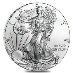 2012 (S) 1 oz Silver American Eagle Coin Sealed Monster Box (San Francisco Mint)