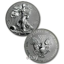 2012 U. S. Mint American Eagle San Francisco Two Coin Silver Reverse & Proof EG1
