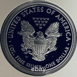 2014-W Congratulations Set US Mint American Silver Eagle 1 oz Proof Low Mintage