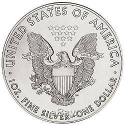 2016 American Silver Eagle 1 oz Coin US Mint Tube of 20