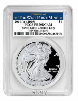 2016 W 1 oz Proof Silver Eagle 30th Anniv West Point Mint Hoard PCGS PR70 DCAM