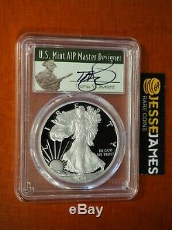 2016 W Proof Silver Eagle Pcgs Pr70 Cleveland From 2019 West Point Mint Hoard
