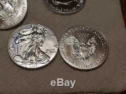 2017 American Silver Eagle (1 oz) $1 1Roll. 20 BU Coins in mint Tube