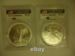 2017-(P) American Silver Eagle MS70 MERCANTI Mint Engraver Series PCGS