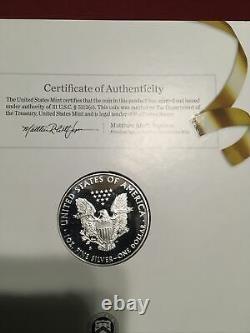 2017-S US Mint Congratulations Set American Eagle 1oz Silver Proof Coin COA