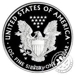 2017 S & W $1 1oz Proof Silver Eagle Pcgs Pr70 Dcam First Strike 2 Coins Lot
