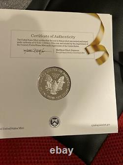 2017-s US Mint congratualations One Oz. Amèriccn Eagle Proof Coin Free Shipping