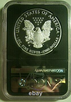 2017-w $1 Silver Eagle 2020 U. S. Mint Emergency Auction Ngc Pf70 Mercanti Rare