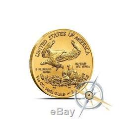 2018 1/10 oz Gold American Eagle Coin $5 Gem BU Fresh From Mint Rolls