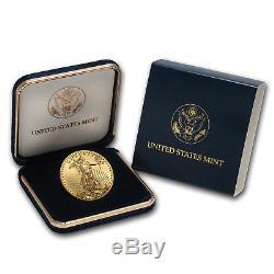 2018 1 oz Gold American Eagle BU (withU. S. Mint Box) SKU#152743