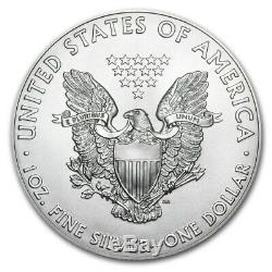 2018 1 oz Silver American Eagle BU Lot of 100 eBay