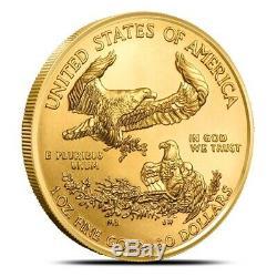 2019 1 oz $50 American Gold Eagle Coin Gem BU Fresh From Mint Rolls