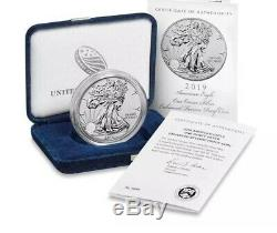 2019-S 19XE Enhanced Reverse Proof Silver Eagle Sealed In Original Box From Mint