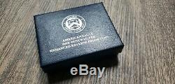 2019 S American Eagle Silver Enhanced Reverse Proof mint mark S