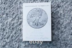 2019 S Enhanced Reverse Proof Silver Eagle Coin 19XE (PCGS PR69), Mint Condition
