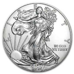 2020 1 oz American Silver Eagles 500 Coin Sealed Monster Box US Mint