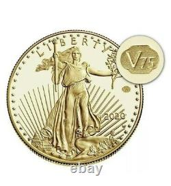 2020 American Gold Eagle V75 End of WW2 75th Anniv Coin MINT CONFIRMED ORDER