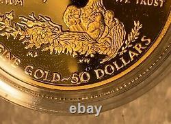2020 End World War II V75 American Gold Eagle DOUBLE MINT ERROR