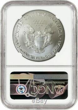 2020 (P) $1 Silver American Eagle MINT ERROR Weakly Struck NGC MS69 Philadelphia