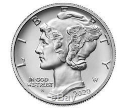 2020 US Mint 1oz American Eagle Palladium Uncirculated Coin 20EK Preorder