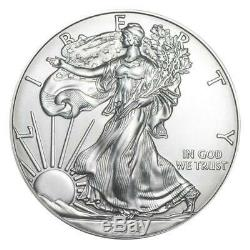 2020 United States Silver Eagle 1 oz Coin Lot of 20