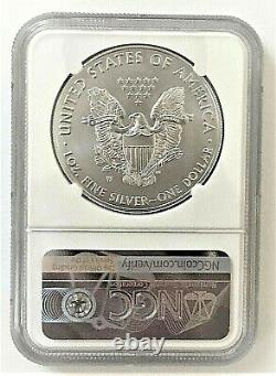2020-w Mint Engraver Burnished Silver Eagle-ngc Ms70-mercanti-population 150