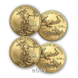 2021 1 oz American Gold Eagle BU (Lot of 2)