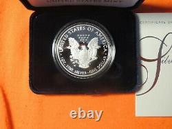 2021 W American Eagle 1 oz Silver Proof Coin 21EA Lot of 10 in Sealed Box