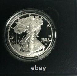 2021 W US Mint American Proof Silver Eagle Dollar Type 2 IN HAND