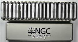 20 PIECE LOT 1oz. 999 SILVER AMERICAN EAGLE DOLLARS 1986-2005 NGC MS 69 WithBOX