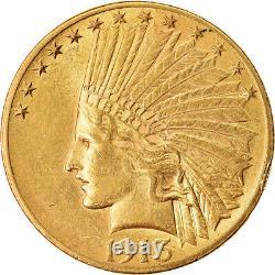 #874502 Coin, United States, Indian Head, $10, Eagle, 1913, U. S. Mint