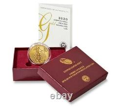 American Eagle 2020 One Ounce Gold Coin Uncirculated Only 7K minted
