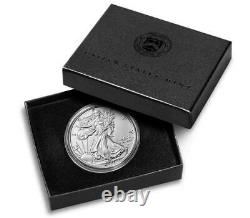 American Eagle 2021 One Ounce Silver Uncirculated (W) 21EGN LOT OF 3 SEALED
