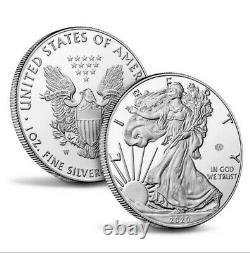 American Mint End Of World War 2 75th Anniversary Eagle Silver Proof Coin CONFRM